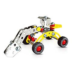 직소 퍼즐 3D퍼즐 / 플레이 차량 빌딩 블록 DIY 장난감 차 73pcs 메탈 화이트 / 핑크 모델 & 조립 장난감