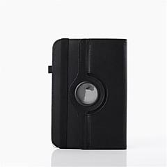 7 inch draaiende universele case met standaard lederen universele standaard geval voor android tablet pc
