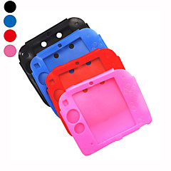Soft Silicone Full Protection Gel Pouch Case Cover for Nintendo 2DS Console(Assorted Colors)
