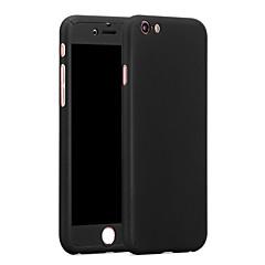 Für iPhone 6 Hülle / iPhone 6 Plus Hülle Stoßresistent Hülle Handyhülle für das ganze Handy Hülle Einheitliche Farbe Hart PCiPhone 6s