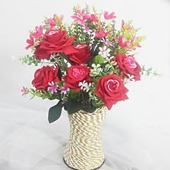 Silkki / Muovi Orkideat / Ruusut Keinotekoinen Flowers