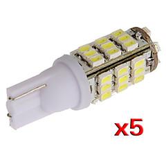 W5W T10 501 194 168 192 5x 42 llevó el bulbo de lámpara de la luz SMD lado cuña (5 piezas)