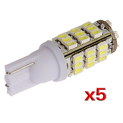 t10 W5W 501 5x 194 168 192 42 levou lado SMD lâmpada cunha lâmpada (5 pcs)