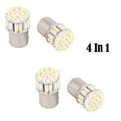 1156 / BA15S 5W 50 SMD White LED for Car Steering Light / Backup / Brake Light (DC12V, 4Pcs)