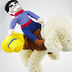 Perros Disfraces / Abrigos / Accesorios / Mono Rosado Ropa para Perro Invierno / Primavera/Otoño Personajes Cosplay
