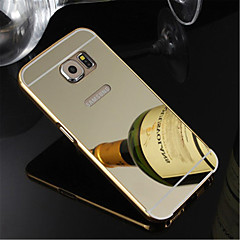 Plating Aluminum Metal Frame With Mirror Style Back Cover Case For Galaxy S7 edge/S7/S6 Edge Plus/S6 Edge/S6/S5/S4