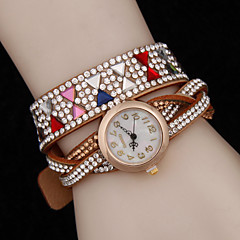 Women's The New Diamond Colorful Winding With The Watch (Assorted Colors)
