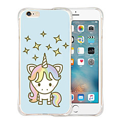 Star Unicorn Soft Transparent Silicone Back Case for iPhone 6/6S (Assorted Colors)