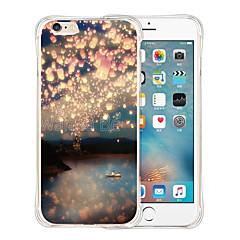 Varten iPhone 6 kotelo / iPhone 6 Plus kotelo Kuvio Etui Takakuori Etui Maisema Pehmeä Silikoni iPhone 6s Plus/6 Plus / iPhone 6s/6
