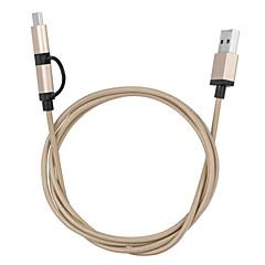 coperture della lega Harber micro usb tipo svolta c nel cavo di dati ad alta velocità per Chromebook&macbook