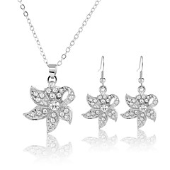 Z&X® Alloy Jewelry Set Necklace/Earrings Party / Daily 1set