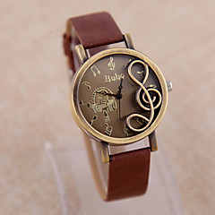Women's Wood Quartz Analog Bracelet Watch (Multi-Colored) Cool Watches Unique Watches Strap Watch