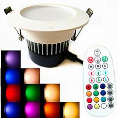 9W LED-neerstralers 18PCS SMD 5730 650 lm Warm wit / Koel wit / Natuurlijk wit / RGBDimbaar / Geluidsgeactiveerd / Op afstand bedienbaar