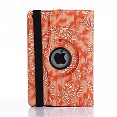 iPadの空気のための360度のブドウ粒PUレザーフリップカバーケース(アソートカラー)