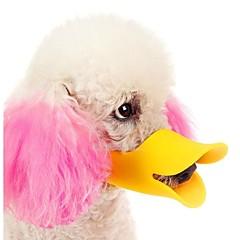 di alta qualità nuovi cani regolabili muso ciarlatano becco d'anatra chiuso disegno protettivo carino fermata morso corteccia maschera per