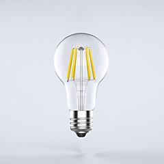 1 pezzo kwbled E26/E27 7W / 8W 8 COB 750 lm Bianco caldo A60(A19) edison Vintage Lampadine LED a incandescenza AC 85-265 V
