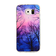 Colorful Sky Pattern TPU Soft Case for Samsung Galaxy S6/S6 Edge/S6 Edge Plus