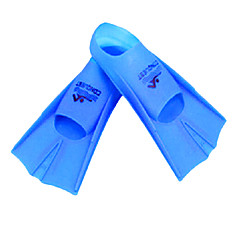 Silicone Yellow Swim Fins for Adult and Kids