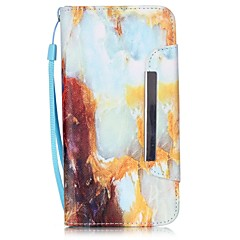 EFORCASE® Marble Painted Lanyard PU Phone Case for iphone6S plus/6plus/6S/6