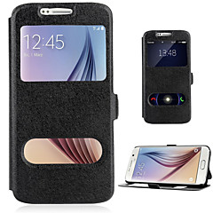For Samsung Galaxy A7(2016) A510 CASE PU Leather flip Cover With Double Window Stand A3 A7 A5 2016