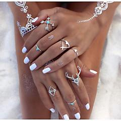 Multi-Finger-Ring(LegierungVintage / Freizeit