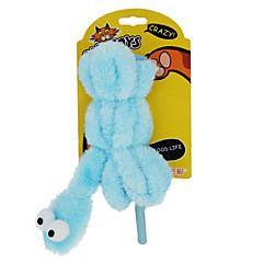 고양이 장난감 반려동물 장난감 티저 뱀 플라스틱 블루 핑크