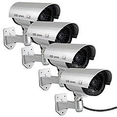 kingneo 4pcs outdoor nep / dummy-camera voor de beveiliging waterdicht cameratoezicht