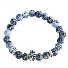Lion Head Natural Stone Bracelet Charm Bracelets Daily / Casual 1pc