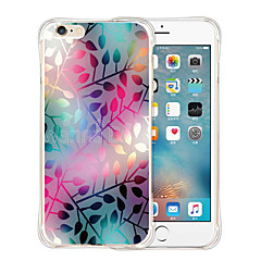 Dotted World Soft Transparent Silicone Back Case for iPhone 6/6S (Assorted Colors)