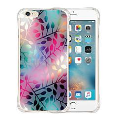 아이폰 6 / 6S에 대한 점선 된 세계 부드러운 투명 실리콘 백 케이스 (모듬 색상)
