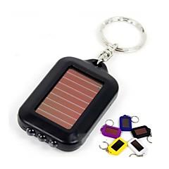 열쇠고리 손전등 LED 1 모드 100 루멘 충전식 LED 리튬 배터리 캠핑/등산/동굴탐험 / 일상용-기타,멀티색상 플라스틱