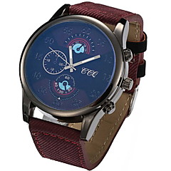 Men's Fashion Nylon Wrist Watches Canvas and Nylon Band Cool Watch Unique Watch