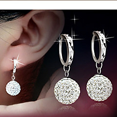 Lucky Doll Alloy / Rhinestone Earring Drop Earrings Daily / Casual 1 pair