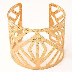 Manschett Armband 1st,Gyllene / Silver Armband Legering Smycken Dam