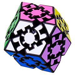Jouets LL® Cubes magiques Equipement Vitesse magic Toy Cube de vitesse lisse Magic Cube Puzzle Noir ABS