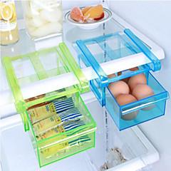 diy kök kylskåp utrymme sparare arrangören glider under hylla rack innehavaren lagring