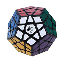 Dayan® Tasainen nopeus Cube Megaminx Nopeus Rubikin kuutio Musta Fade ABS