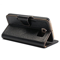 Yak Genuine Leather Stand Case with 2 Card Slots Wallet Pocket for Samsung Galaxy S5/S6/S6 Edge/S6 Edge Plus/S7/S7 Edge