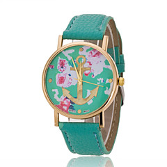 Women's Wrist Watch Korean Fashion Casual Striped Belt Anchor Belt Quartz Watch(Assorted Colors)