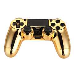 Double Shock Wired Controller for PS4/PC(Plating Golden/Silver)