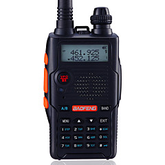 BaoFeng Χειρός / Ψηφιακό UV-5R5TH-BLKFM Ραδιόφωνο / Φορητός πομποδέκτης / Δυο ζώνες συχνοτήτων / Απεικόνιση δυο ζωνών / Αναμονή των δυο
