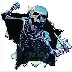adesivos de carro do corpo de medo esqueleto adesivos decalques do carro de graffiti