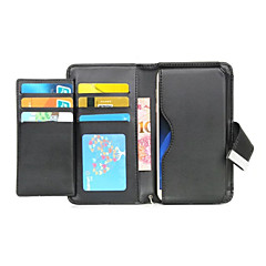 For Sony Case / Xperia X / Xperia XA / Xperia Z5 / Xperia Z3 Card Holder / Wallet / Flip Case Full Body Case Solid Color Hard PU Leather