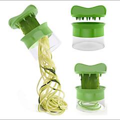 Zöldség spirálozó sárgarépa uborka szeletelő spagetti saláta készítő gyümölcs vágó sajt konyha