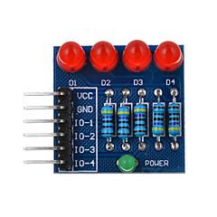 4p portato diodo PWM dimming luce rossa modulo - blu + rosso + multicolore adatto per Arduino ricerca scientifica