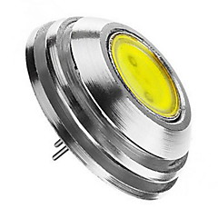 2W G4 Focos LED 1 COB 180 lm Blanco Cálido / Blanco Fresco / Blanco Natural Regulable DC 12 V 4 piezas