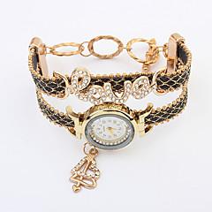 Women's European Style Fashion Rhinestone Love Heart Bracelet Watch Cool Watches Unique Watches