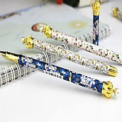Crown Floral Fountain Pen(Random Color)