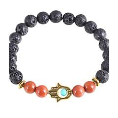 Heren Dames Strand Armbanden Imitatieparel Kristal Kruisvorm Boze oog Zilver Gouden Sieraden Voor Dagelijks Causaal Kerstcadeaus 1 stuks