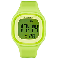 Luminous Waterproof Electronic Silicone Jelly Couple Watches Student Table